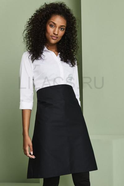 Фартук юбка для бармена и официанта, черный