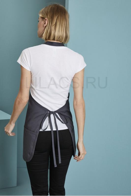 Короткий фартук Lilacs Short, серый