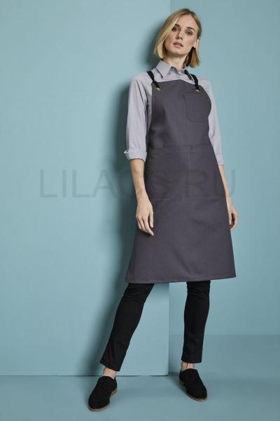 Фартук официанта Lilacs Comfort, серый