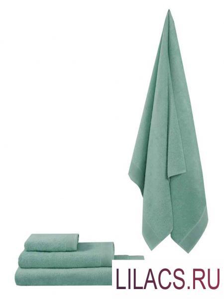 ПМмен-100-150 Полотенце махровое Guten Morgen, цвет:ментол 100х150 см 1 сорт