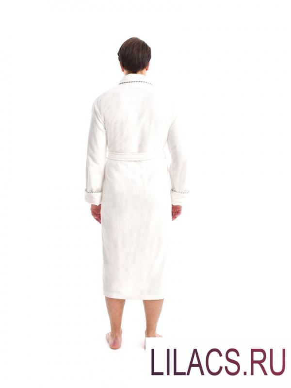 """3487 Халат """"KARNA"""" трига TIFANY (Белый) 2 XL (52)"""