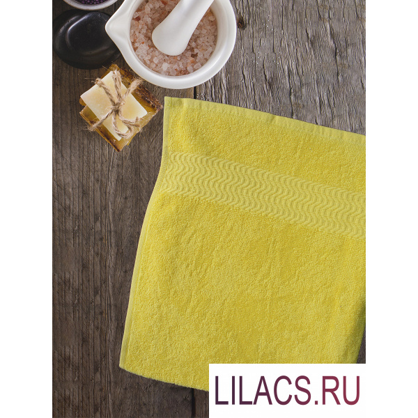 7590 Полотенце Amore Mio AST Clasic 30*70 насыщенный желтый