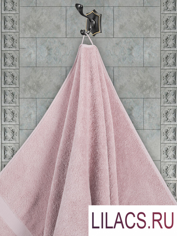 """3566 Полотенца махровое """"KARNA"""" AREL 30х50 см 1/1 Грязно-розовый"""