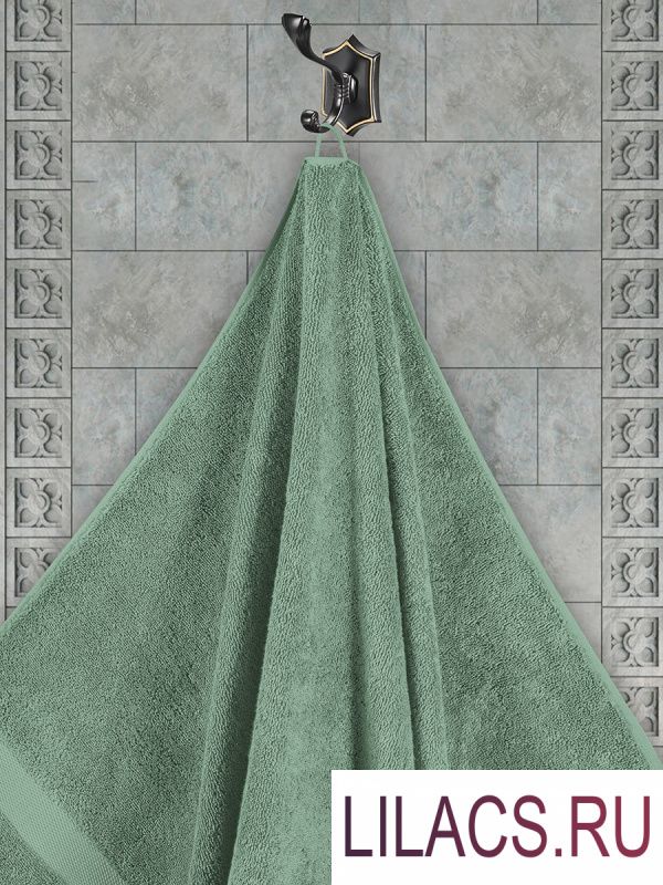 "3566 Полотенца махровое ""KARNA"" AREL 30х50 см 1/1 Зеленый"