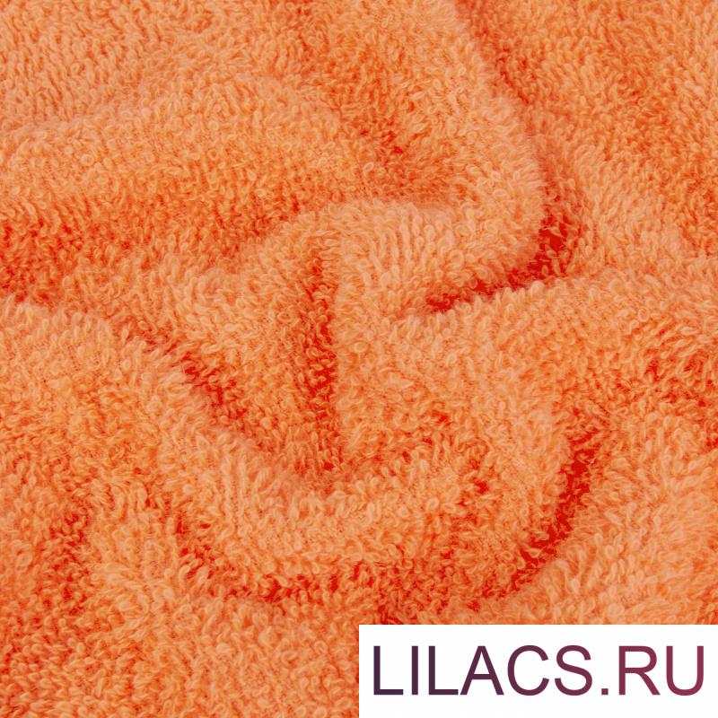 Набор из 2 полотенец Eleganta (Marakesh) (50х80 см + 70х130 см) Махра 390 г/м2, 4251 Кораллово-оранжевый
