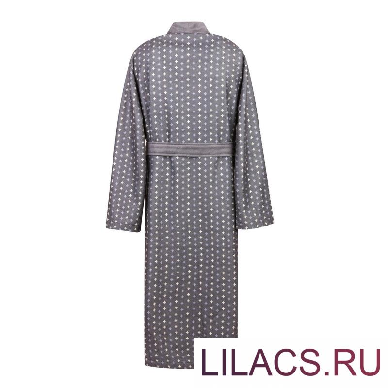Бугатти (серый) XL Мужской Халат